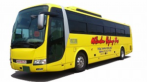 NH402 中日本ハイウェイバス<4号車> TDL・東京⇒敦賀・武生・福井・加賀・小松 4列ワイドシート・トイレ付