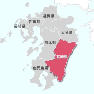 すべての講義 関東エリア地図 : 九州エリア(宮崎県)発を地図で ...